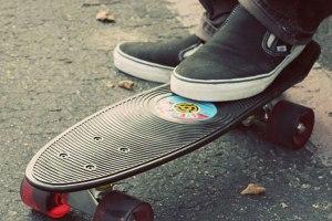 Vinyl Skateboard