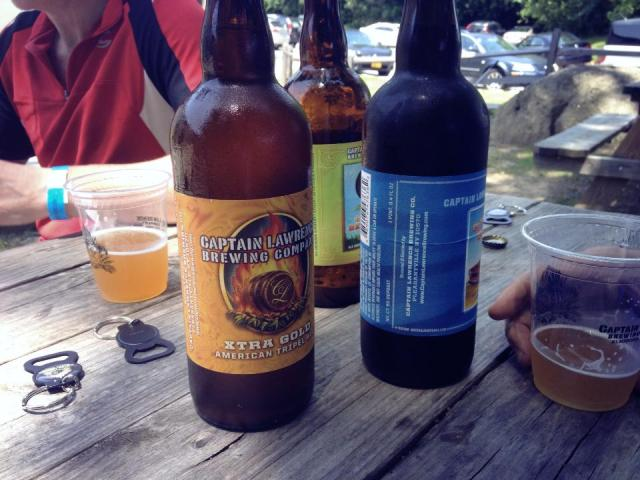 3 Captain Lawrence beers